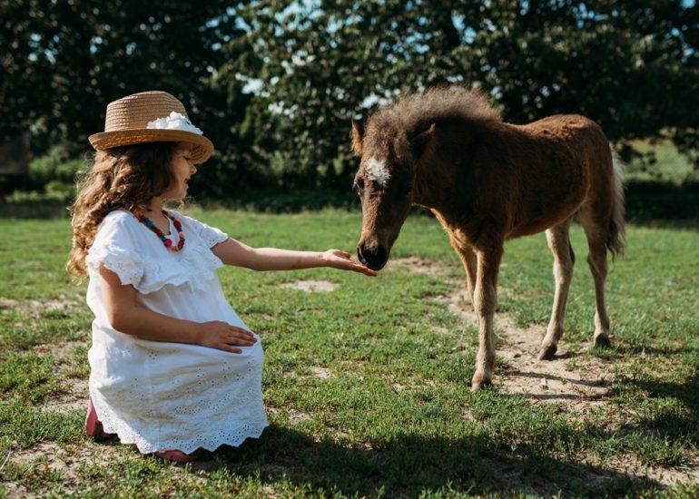 fotografia dziecięca sesja w plenerze