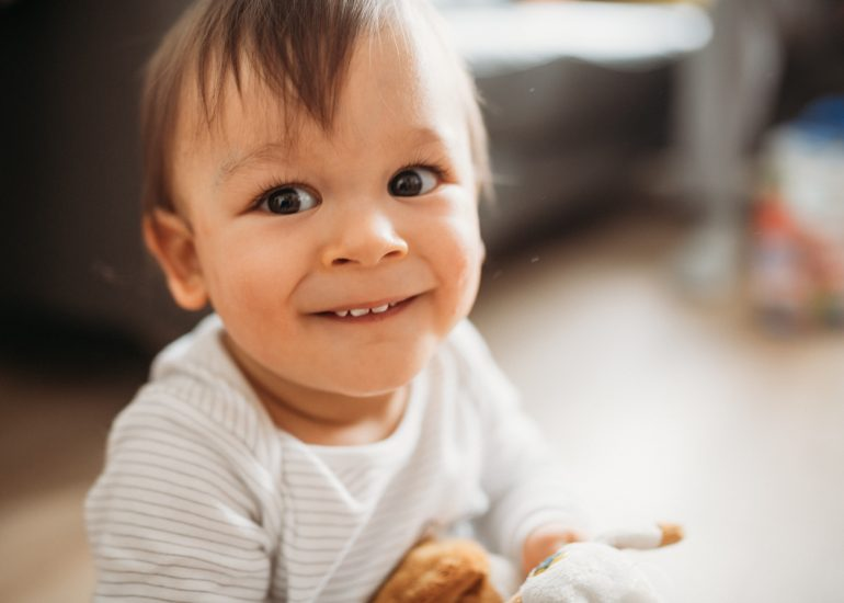 fotografia rodzinna portet chłopca
