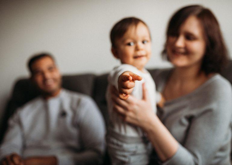 małe dziecko fotografia rodzinna Łódź