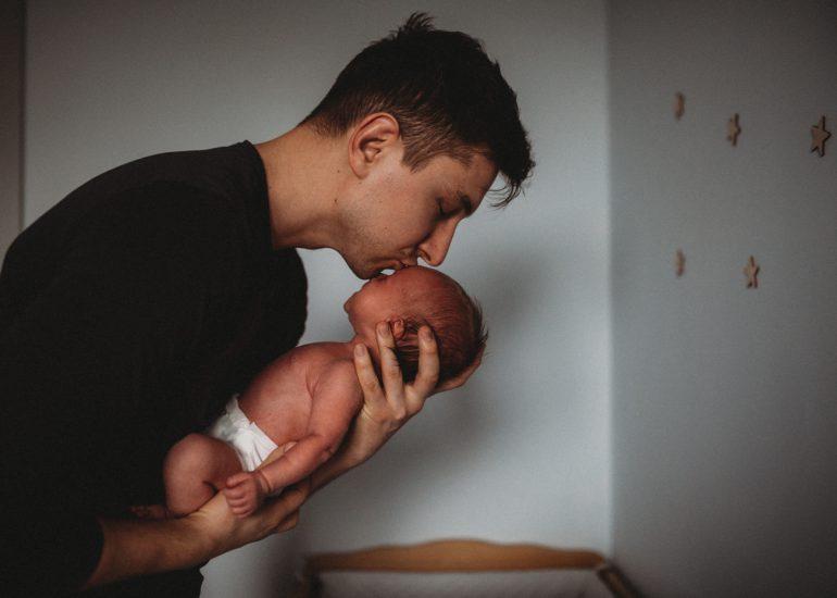 fotografia noworodkowa w domu